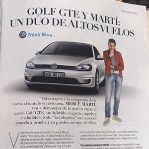 InStyle Magazine - VW Golf GTE